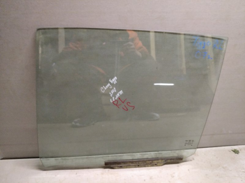 Стекло двери опускное Chery Tiggo T11 2005 заднее левое (б/у)
