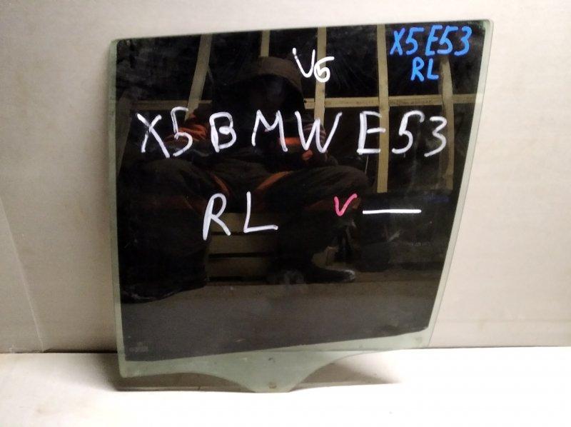 Стекло двери опускное Bmw X5 E53 2000 заднее левое (б/у)