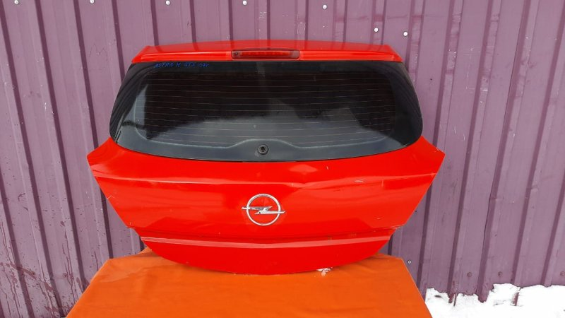 Крышка багажника Opel Astra Gts H 2004 (б/у)