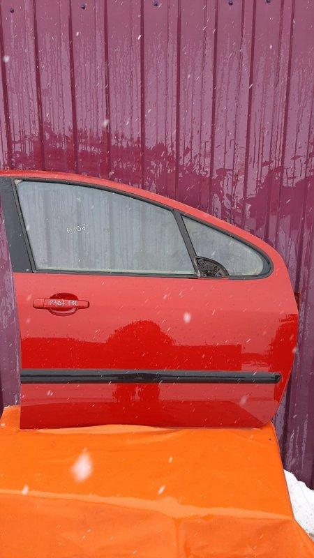 Дверь Peugeot 307 3A 2001 передняя правая (б/у)