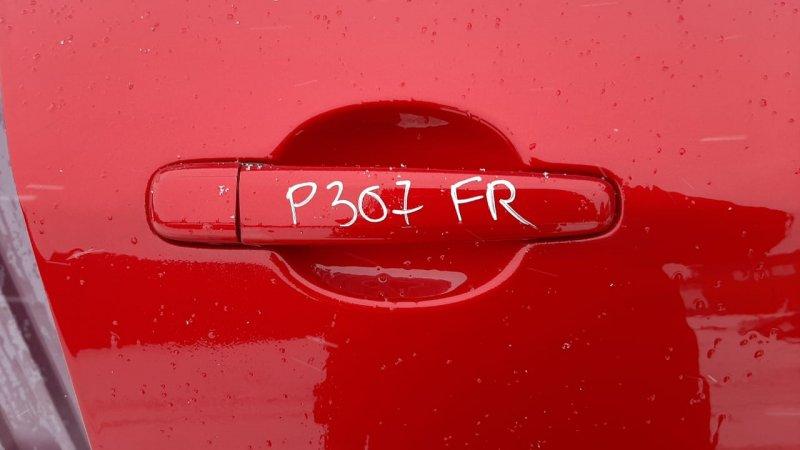 Ручка двери внешняя Peugeot 307 3A 2001 передняя правая (б/у)