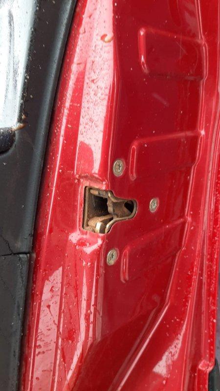 Замок двери Peugeot 307 3A 2001 передний правый (б/у)