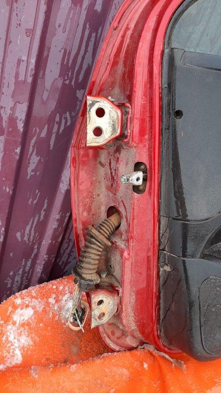 Петля двери Peugeot 307 3A 2001 передняя правая нижняя (б/у)