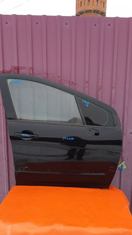 Дверь Peugeot 308 T7 2007 передняя правая (б/у)