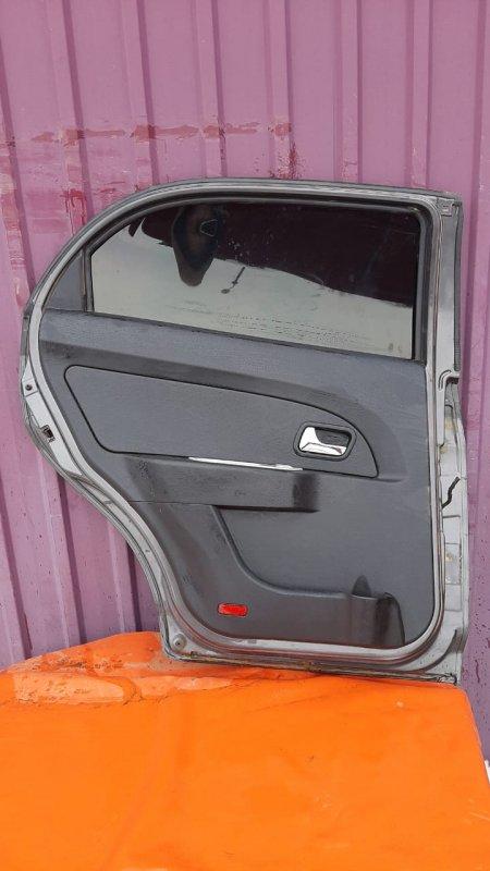 Обшивка двери Chery Bonus A13 SQR477F 2011 задняя левая (б/у)