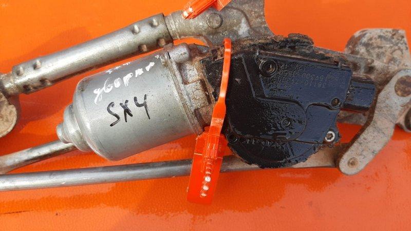 Мотор трапеции стеклоочистителя Suzuki Sx4 2006 (б/у)