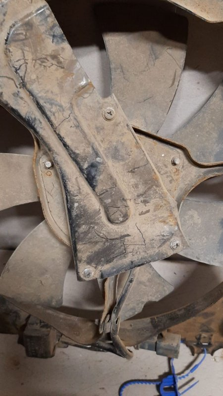 Мотор вентилятора Honda Cr-V RE 2007 (б/у)