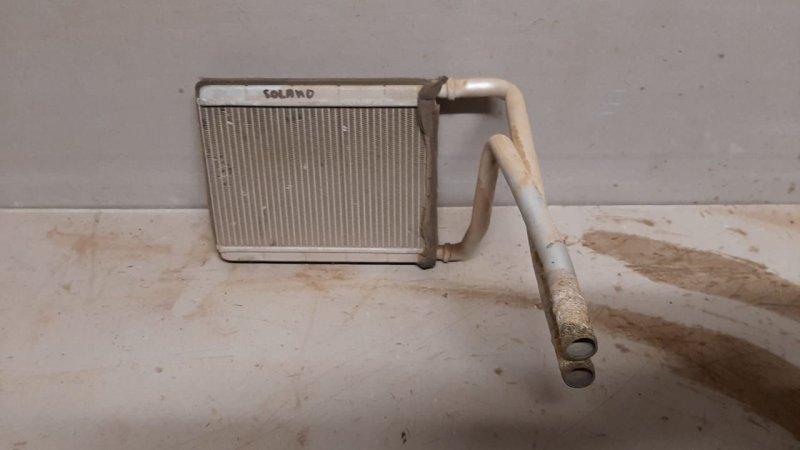 Радиатор отопителя печки Lifan Solano 620 2010 (б/у)