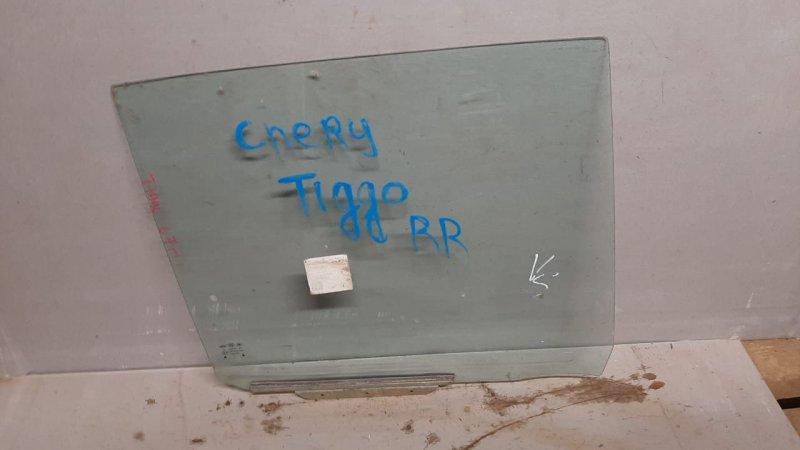 Стекло двери опускное Chery Tiggo T11 2005 заднее правое (б/у)