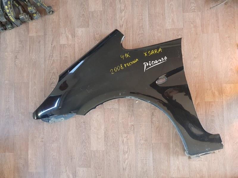 Крыло Citroen Xsara Picasso N68 EW10J4 2004 переднее левое (б/у)