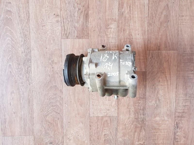 Компрессор кондиционера Ford Fiesta 5 CBK FXJB 2002 (б/у)
