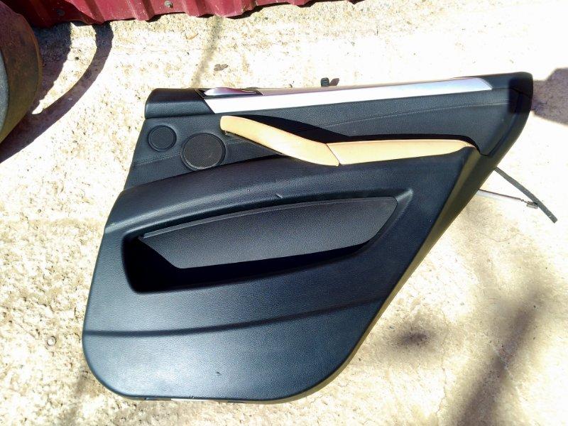 Обшивка двери Bmw X5 E70 2006 задняя правая (б/у)