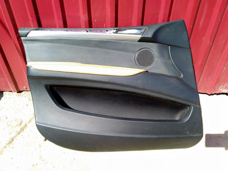 Обшивка двери Bmw X5 E70 2006 передняя левая (б/у)