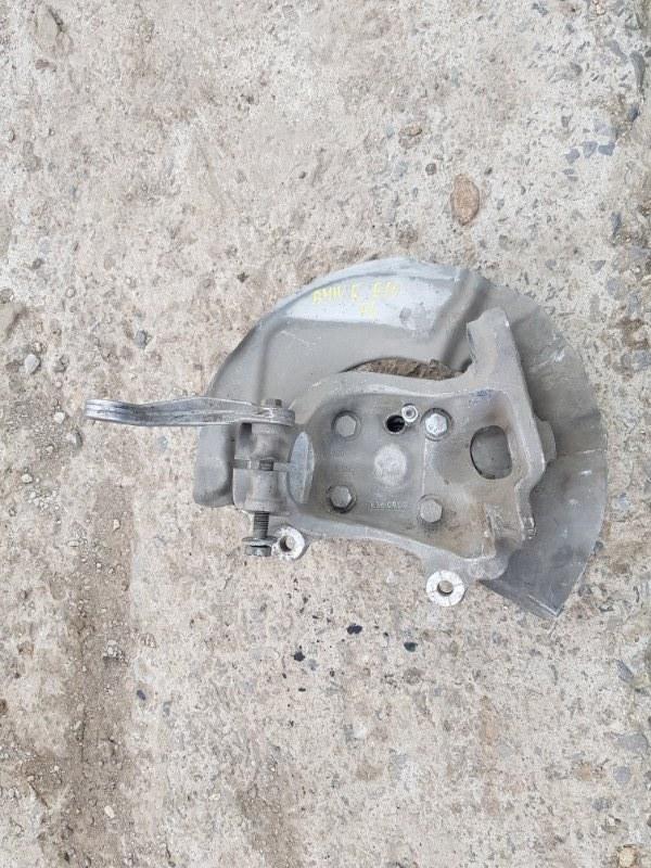 Кулак поворотный Bmw 545I E60 N62B44A 2002 передний левый (б/у)