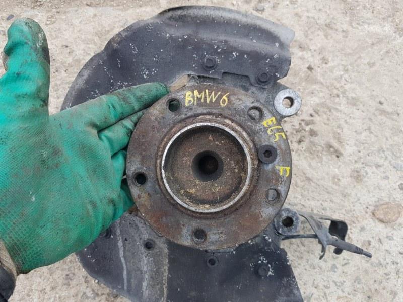 Ступица Bmw 645I E63 N62B44 2003 передняя (б/у)