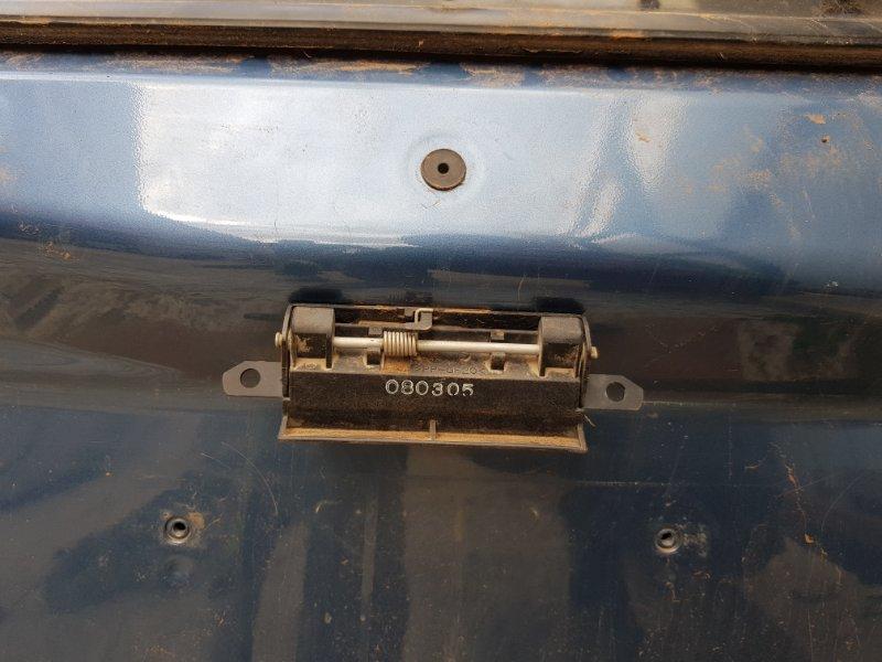 Ручка двери ответная часть Subaru Outback BP 2003 задняя (б/у)