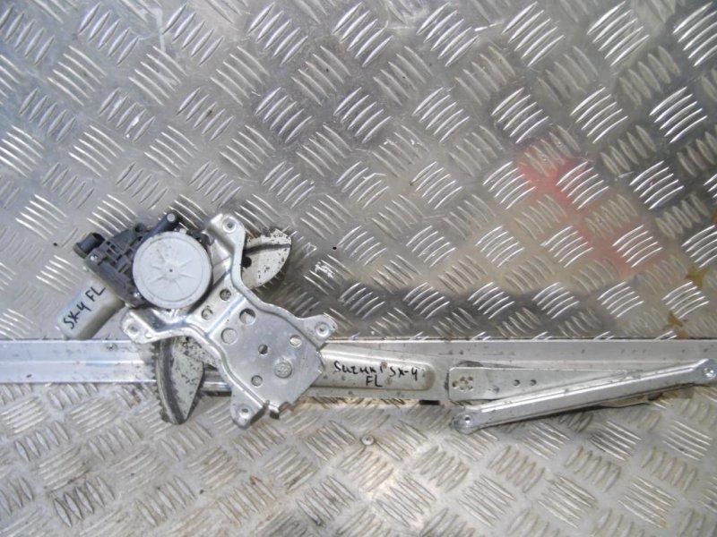Механизм стеклоподъемника Suzuki Sx4 2006 передний левый (б/у)