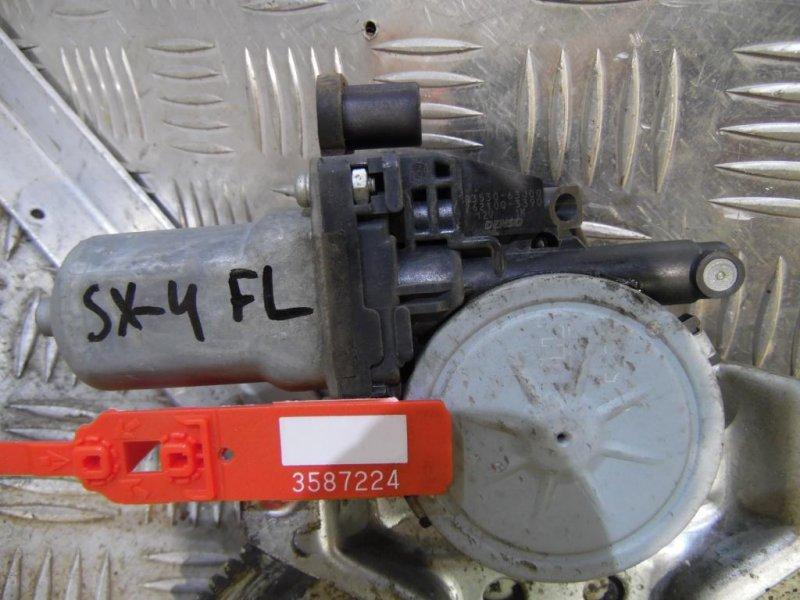 Моторчик стеклоподъемника Suzuki Sx4 2006 передний левый (б/у)