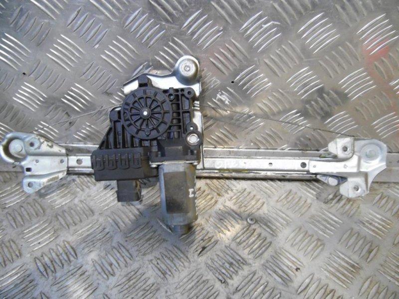 Механизм стеклоподъемника Opel Astra H 2004 задний правый (б/у)