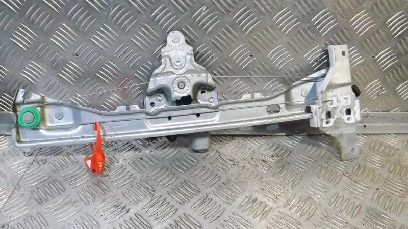 Механизм стеклоподъемника Peugeot 408 2012 задний левый (б/у)