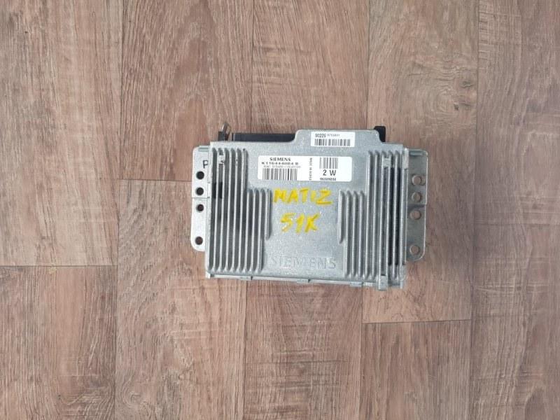 Блок управления двигателем Daewoo Matiz KLYA F8CV 2000 (б/у)