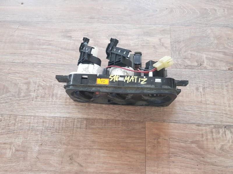 Блок управления печкой отопителем Daewoo Matiz KLYA F8CV 2000 (б/у)