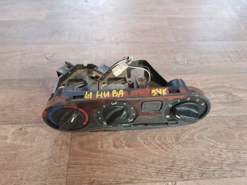 Блок управления печкой отопителем Chevrolet Niva 21236 ВАЗ-2123 1998 (б/у)