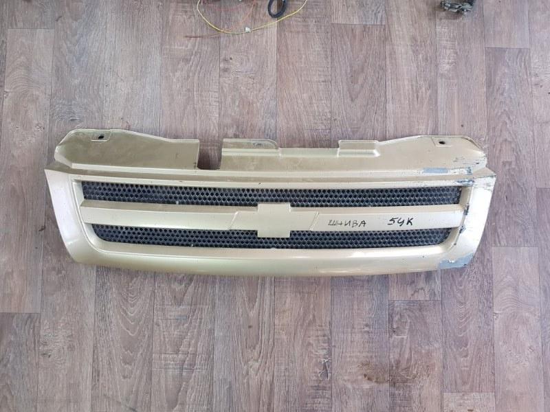 Решетка радиатора Chevrolet Niva 21236 ВАЗ-2123 1998 (б/у)