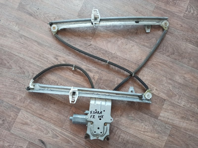 Механизм стеклоподъемника Citroen Xsara Picasso N68 EW10J4 1999 передний правый (б/у)