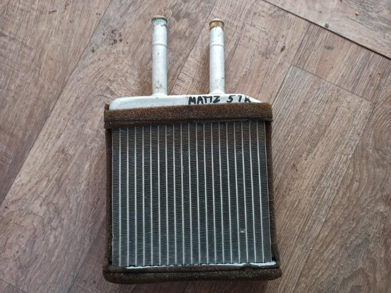 Радиатор отопителя печки Daewoo Matiz KLYA F8CV 2000 (б/у)