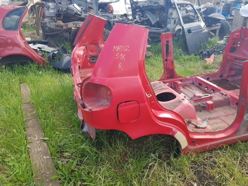 Крыло Daewoo Matiz KLYA F8CV 2000 заднее правое (б/у)