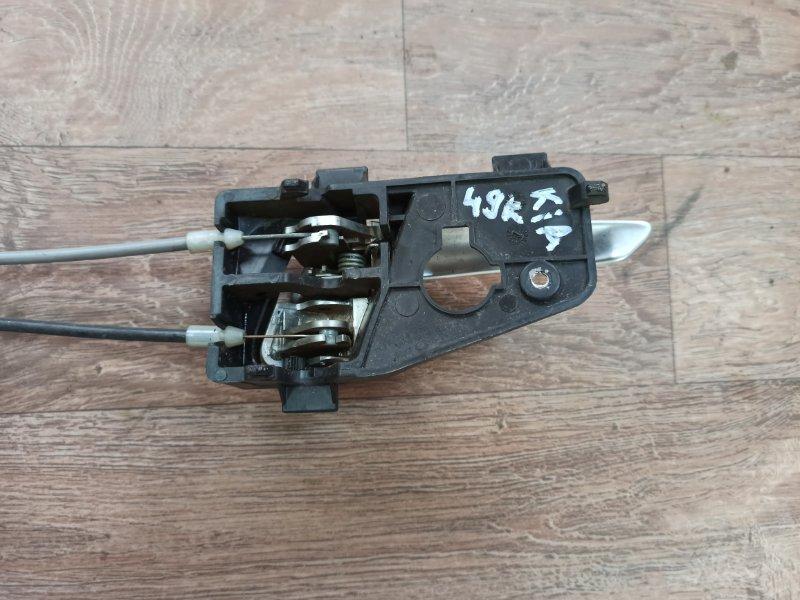 Ручка двери внутренняя Kia Picanto TA G3LA 2011 передняя левая (б/у)
