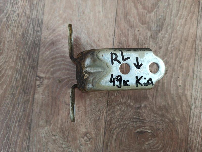 Петля двери Kia Picanto TA G3LA 2011 задняя левая нижняя (б/у)