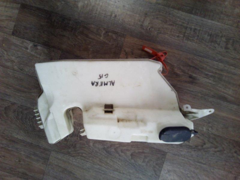 Бачок омывателя лобового стекла Nissan Almera G15 K4M 2012 (б/у)