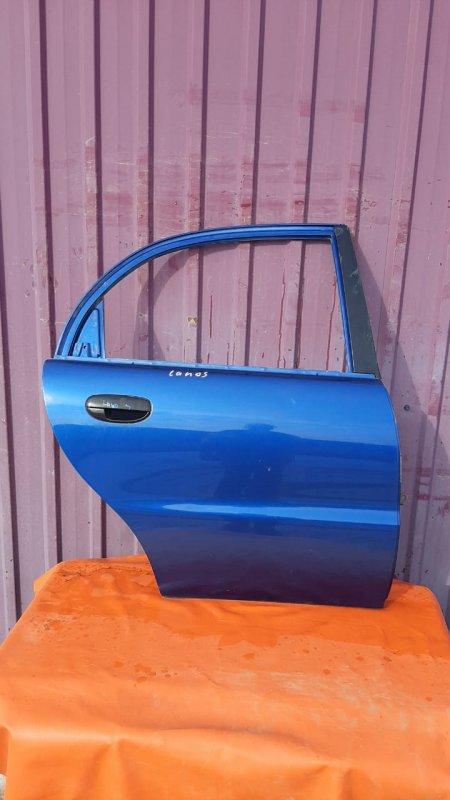 Дверь Chevrolet Lanos 2004 задняя правая (б/у)