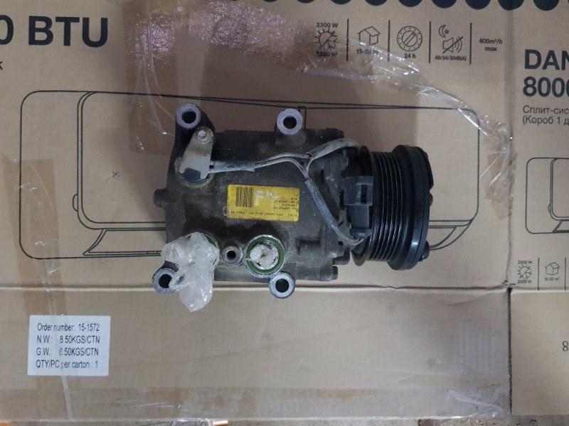 Компрессор кондиционера Ford Fiesta 5 CBK FXJA 2002 (б/у)