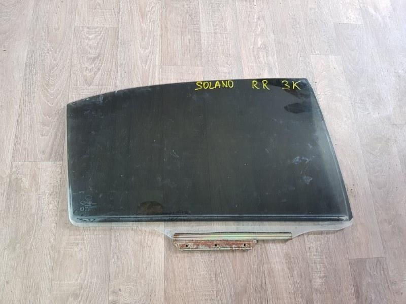 Стекло двери опускное Lifan Solano 620 LF481Q3 2010 заднее правое (б/у)