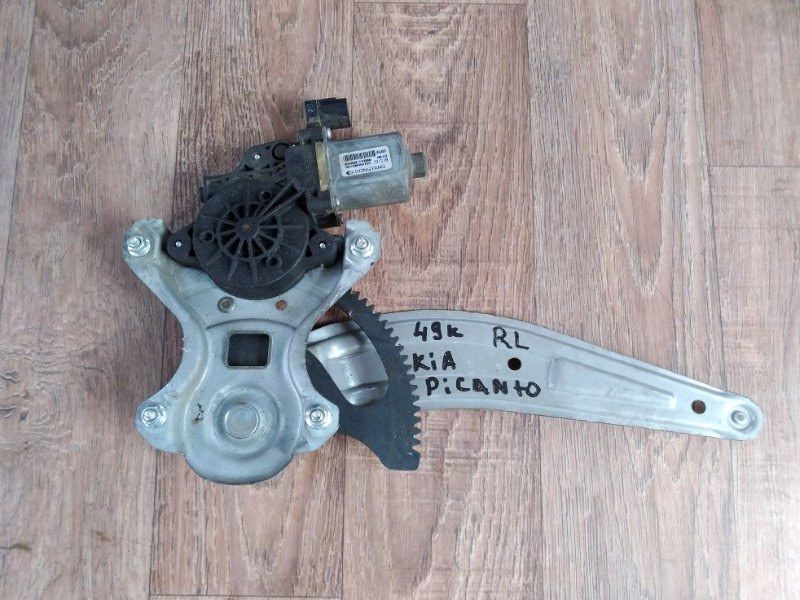 Механизм стеклоподъемника Kia Picanto TA G3LA 2011 задний левый (б/у)