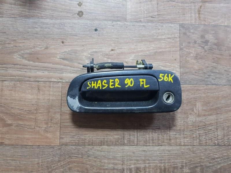 Ручка двери внешняя Toyota Chaser X90 2L-TE 1992 передняя правая (б/у)