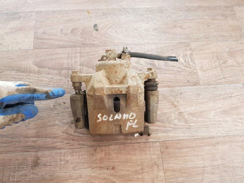Суппорт Lifan Solano 620 2010 передний левый (б/у)