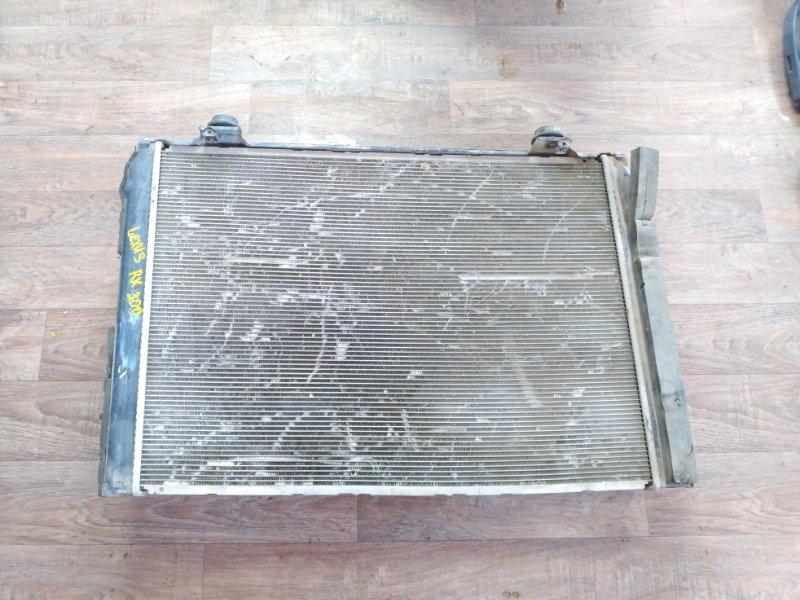 Радиатор двигателя Lexus Rx350 2003 (б/у)