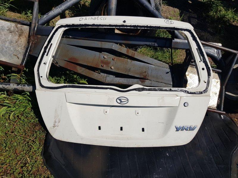 Крышка багажника Daihatsu Yrv 2000 (б/у)