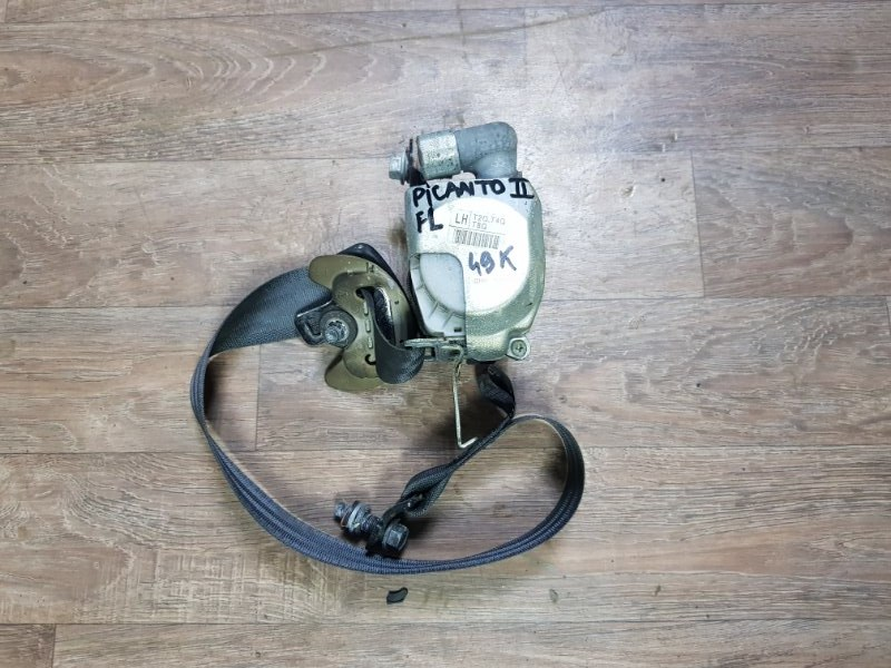Ремень безопасности Kia Picanto TA G3LA 2011 передний левый (б/у)