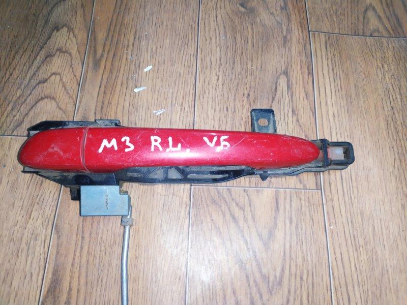 Ручка двери внешняя Mazda 3 BL 2008 задняя левая (б/у)