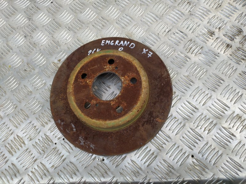 Диск тормозной Geely Emgrand X7 JLD-4G20 2013 задний (б/у)