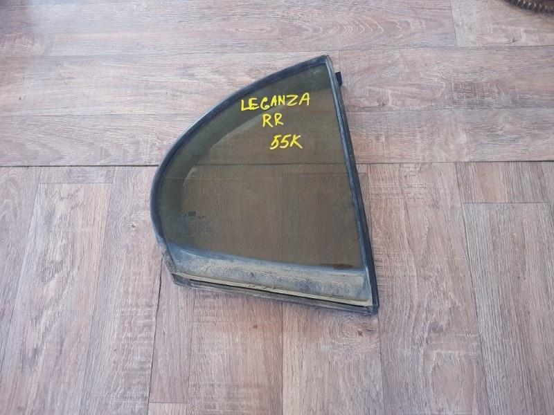 Стекло глухое Daewoo Leganza V100 X20SED 1997 заднее правое (б/у)