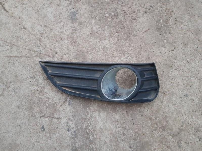 Рамка птф, решетка птф Geely Mk MR479QA 2008 левая (б/у)
