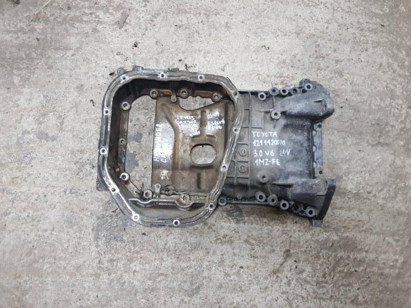 Поддон масляный двигателя Lexus Rx300 XU10 1MZFE 1998 (б/у)