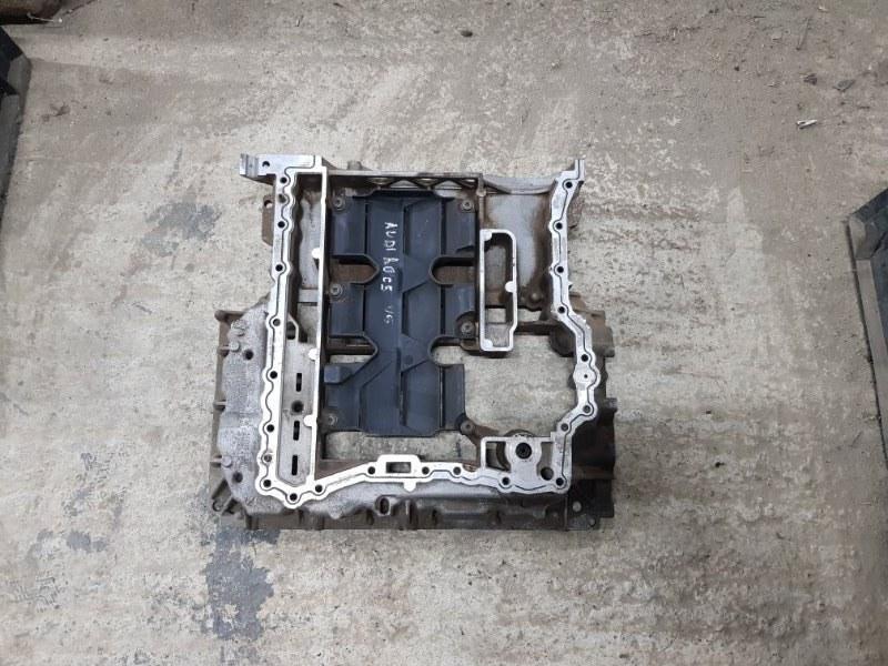 Поддон масляный двигателя Audi A6 C5 1997 верхний (б/у)
