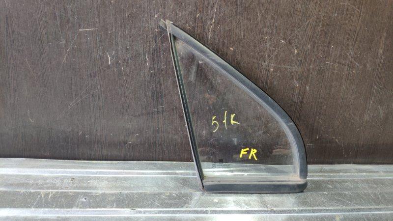 Стекло двери глухое, форточка Daewoo Matiz F8CV 2000 переднее правое (б/у)